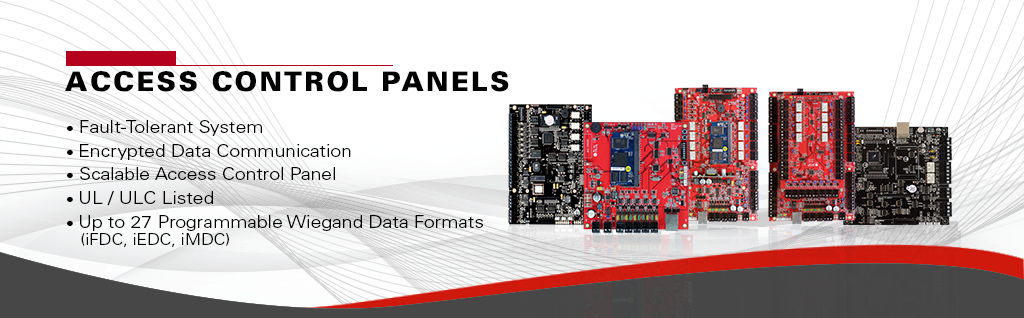 Access Control Panel Banner