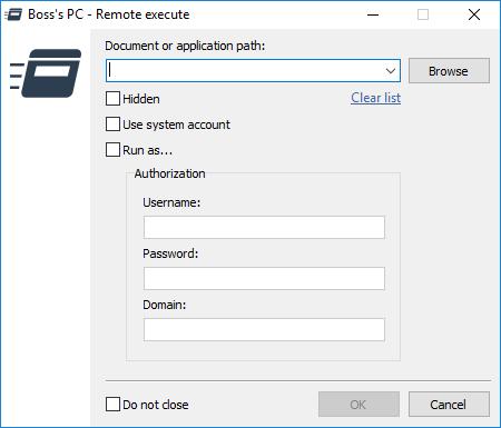 Remote Utilities-ejecución remota