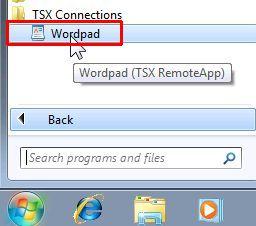 TSX-RemoteApp-Startmenu-entry